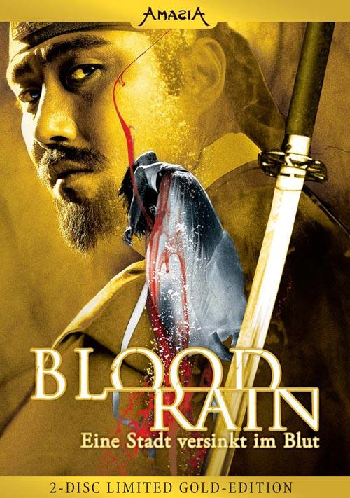 DVD Cover: Blood Rain - 2-Disc Limited Gold Edition