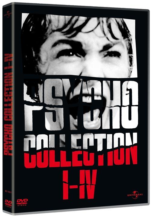 DVD Cover: Psycho Collection I-IV - Neuauflage