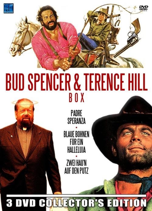 DVD Cover: Bud Spencer & Terence Hill - 3 DVD Collector's Edition
