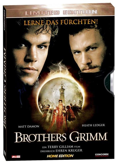 DVD Cover: Brothers Grimm - Limited Edition