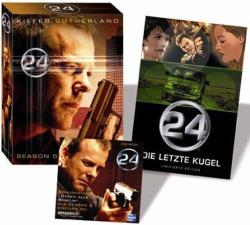 DVD Cover: 24 - twentyfour - Season 5 Box + Bonus