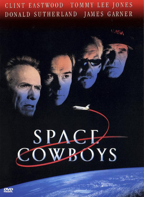 DVD Cover: Space Cowboys