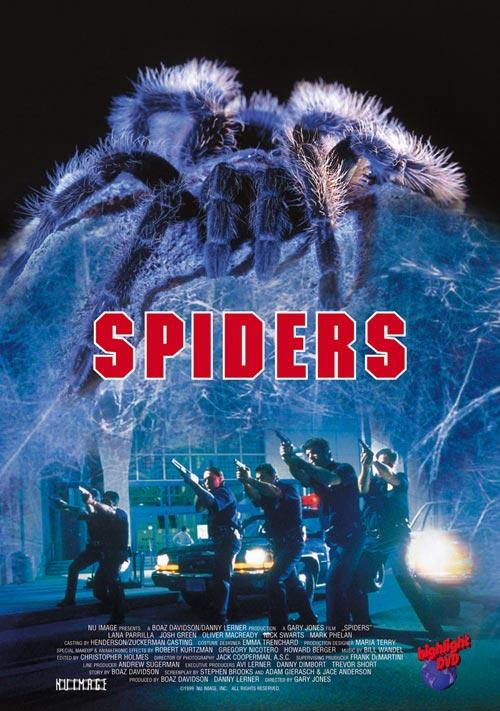 DVD Cover: Spiders