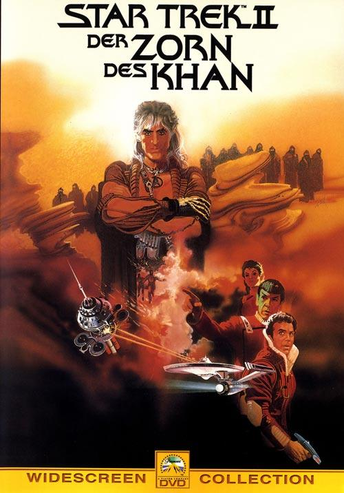 DVD Cover: Star Trek 02 - Der Zorn des Khan
