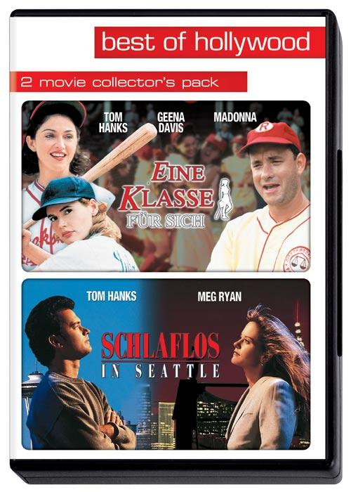 DVD Cover: Best of Hollywood: Eine Klasse f�r sich / Schlaflos in Seattle