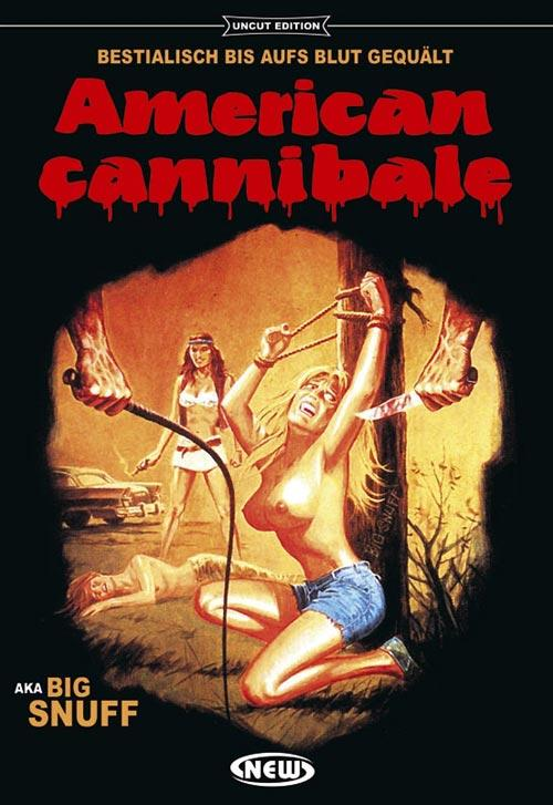DVD Cover: American Cannibale - Big Snuff - Uncut Edition - Cover A