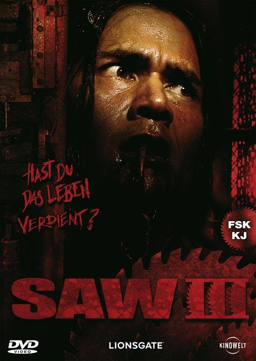DVD Cover: SAW III