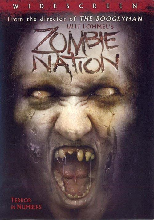 DVD Cover: Zombie Nation