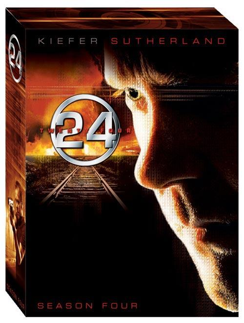 DVD Cover: 24 - twentyfour - Season 4 Box - Neuauflage