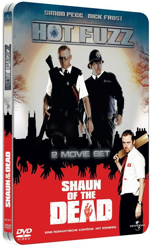DVD Cover: Hot Fuzz & Shaun of the Dead