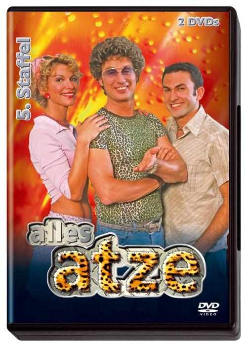 DVD Cover: Alles Atze - 5. Staffel