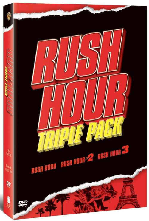 DVD Cover: Rush Hour Triple Pack