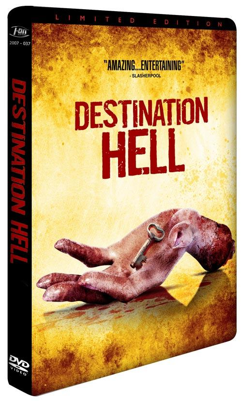 DVD Cover: Destination Hell - Limited Edition