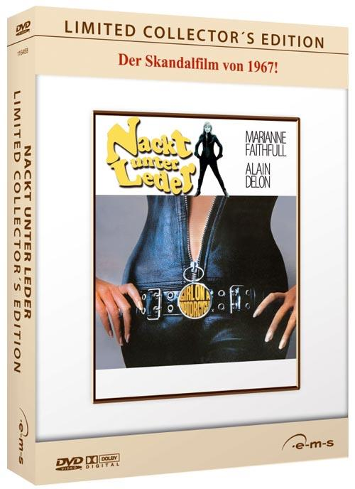 DVD Cover: Nackt unter Leder - Limited Collector's Edition