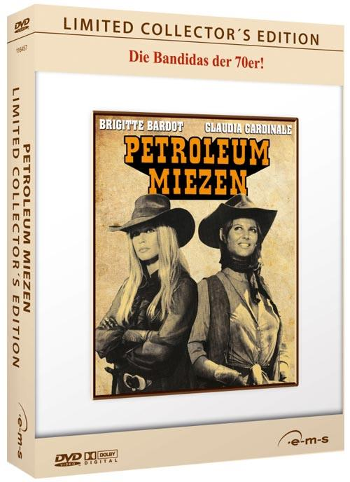 DVD Cover: Petroleum Miezen - Limited Collector's Edition