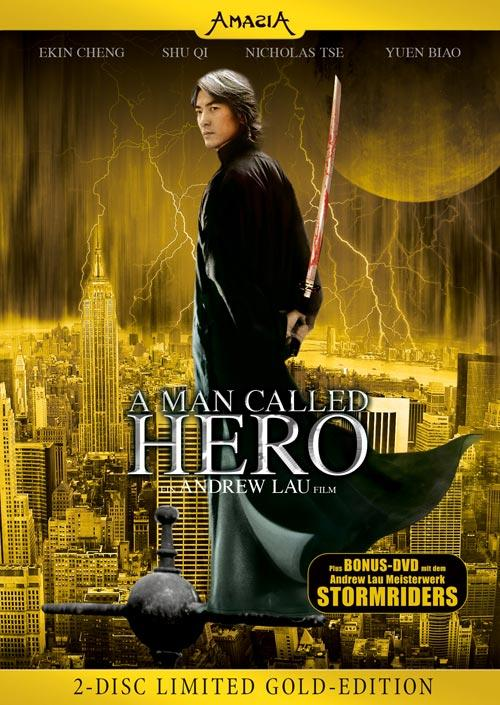 DVD Cover: A Man called Hero - Limited Gold-Edition