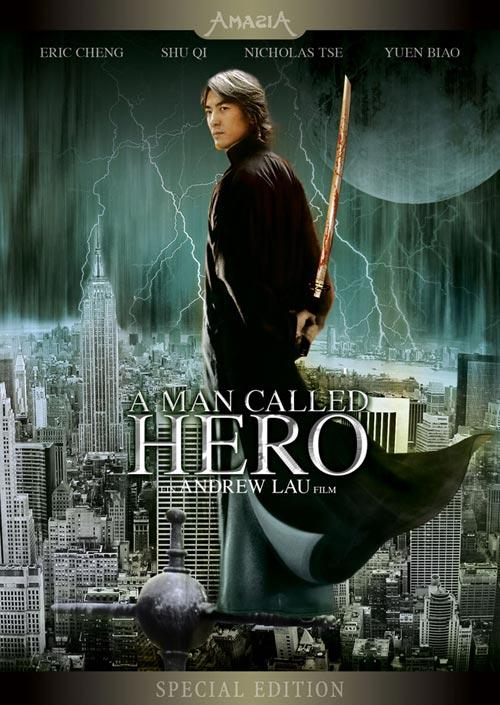 DVD Cover: A Man called Hero