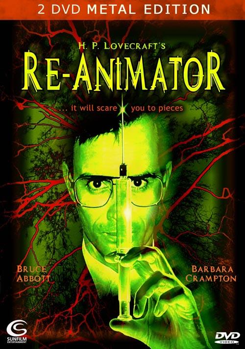 DVD Cover: Re-Animator - Metal Edition