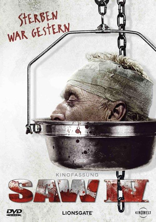 DVD Cover: SAW IV - Kinofassung