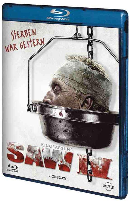 DVD Cover: SAW IV- Kinofassung