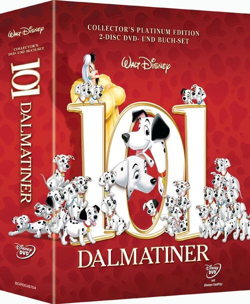 DVD Cover: 101 Dalmatiner - Collector's Platinum Edition
