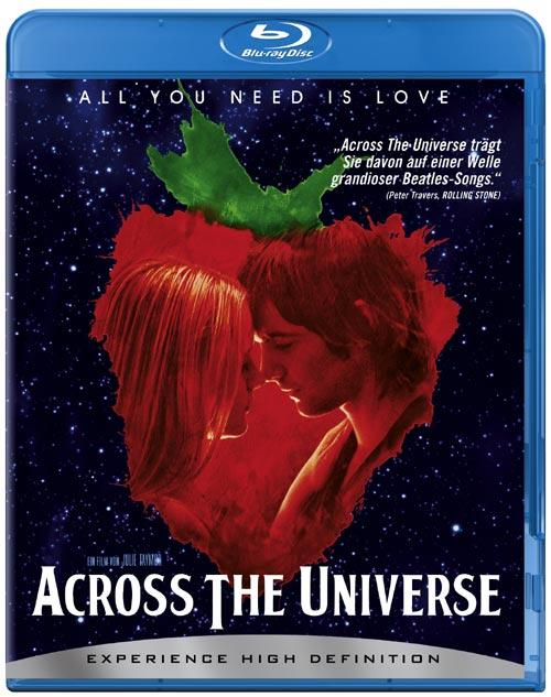 DVD Cover: Across The Universe