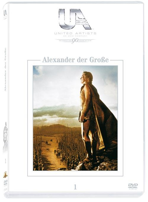 DVD Cover: 90 Jahre United Artists - Nr. 01 - Alexander der Gro�e