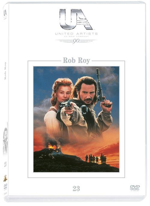 DVD Cover: 90 Jahre United Artists - Nr. 23 - Rob Roy