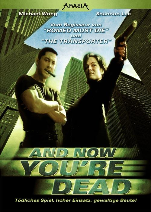 DVD Cover: And now you're Dead