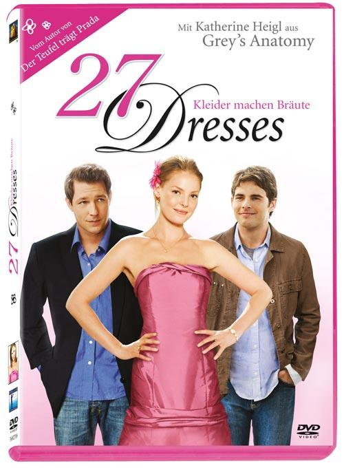 DVD Cover: 27 Dresses
