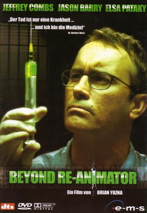 DVD Cover: Beyond Re-Animator