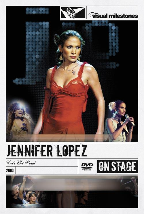 DVD Cover: Jennifer Lopez - Let's Get Loud