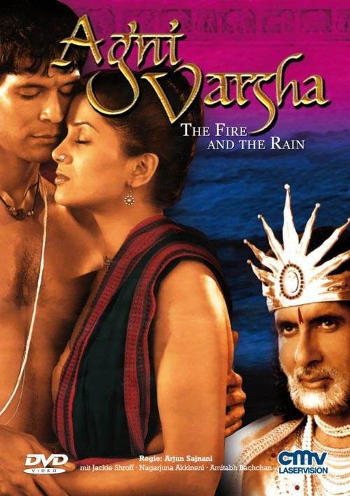 DVD Cover: Agni Varsha - The Fire and The Rain
