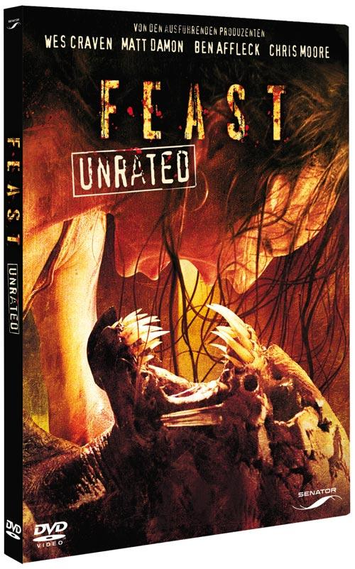 DVD Cover: Feast - unrated