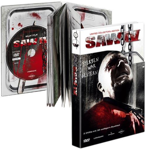 DVD Cover: SAW IV - Limited Collector's Edition