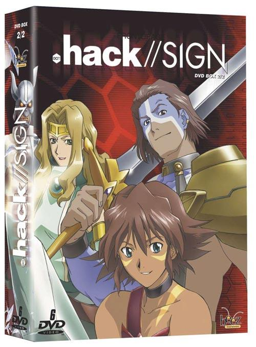 DVD Cover: .hack//SIGN - Box 2/2