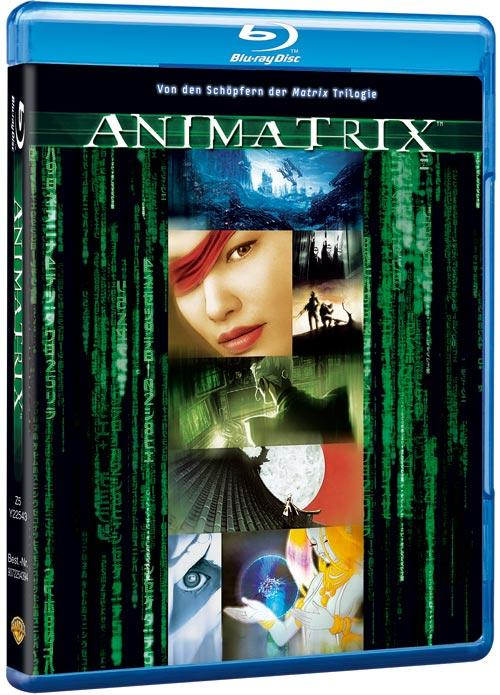 DVD Cover: Animatrix
