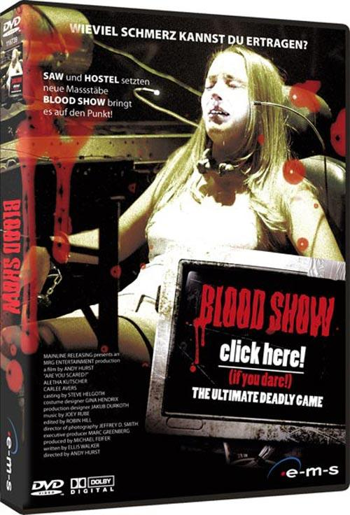 DVD Cover: Blood Show