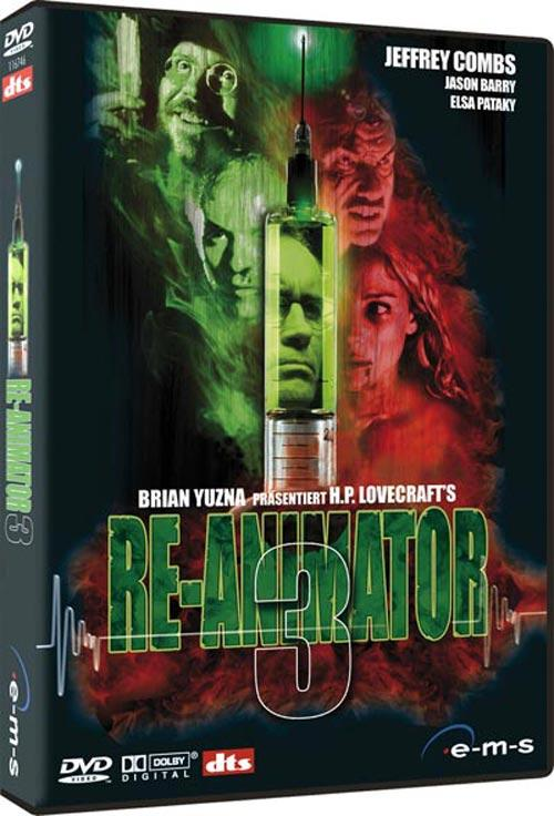 DVD Cover: Re-Animator 3