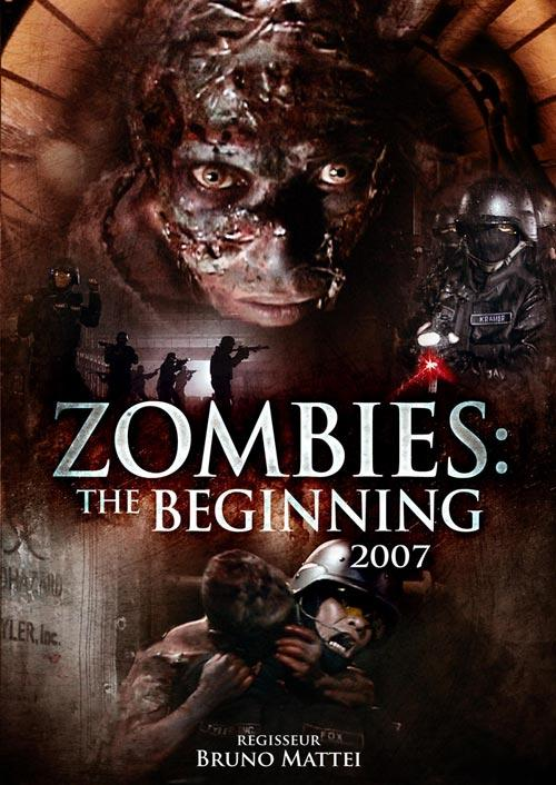 DVD Cover: Zombies: The Beginning