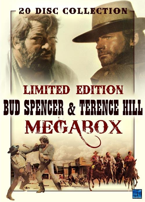 DVD Cover: Bud Spencer & Terence Hill - Megabox- Limited Edition