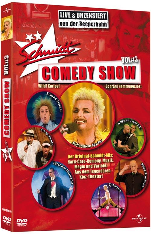 DVD Cover: Schmidt Comedy Show - Vol. 3