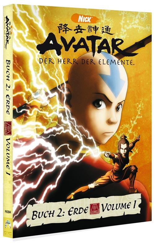 DVD Cover: Avatar - Buch 2: Erde - Volume 1