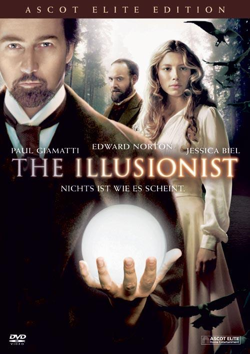 DVD Cover: The Illusionist - Ascot Elite Edition