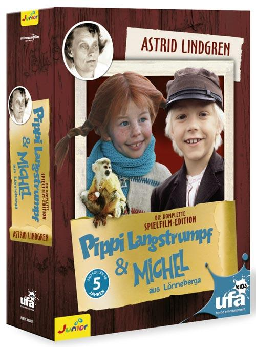 DVD Cover: Pippi Langstrumpf & Michel - Box