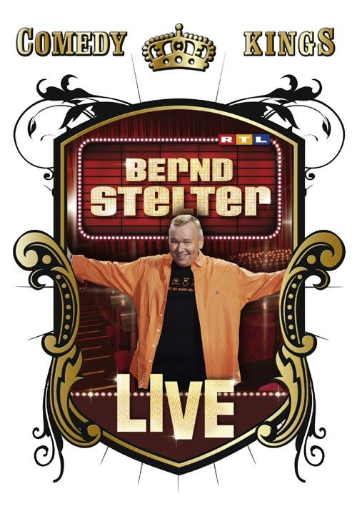 DVD Cover: Comedy Kings: Bernd Stelter - Live