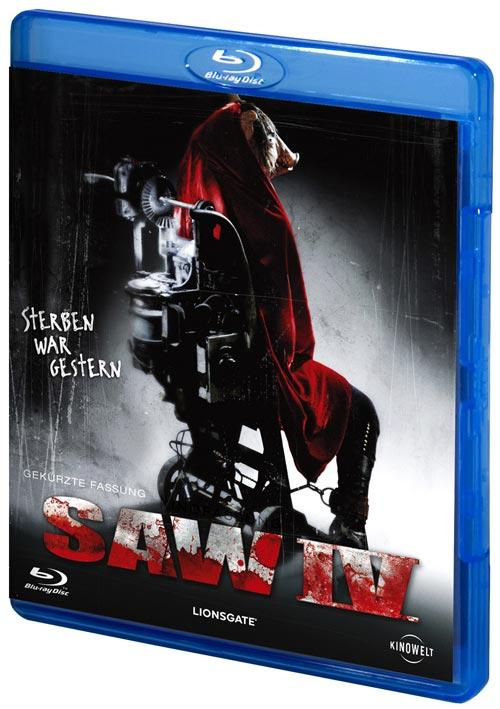DVD Cover: SAW IV
