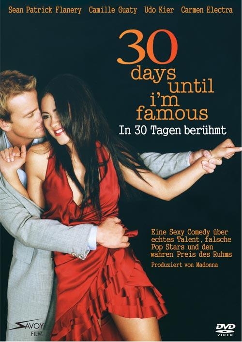 DVD Cover: 30 Days Until I'm Famous - In 30 Tagen ber�hmt