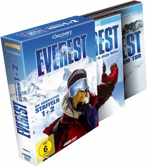 DVD Cover: Everest - Staffel 1 & 2 - Box