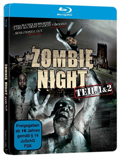 DVD Cover: Zombie Night - Teil 1 & 2